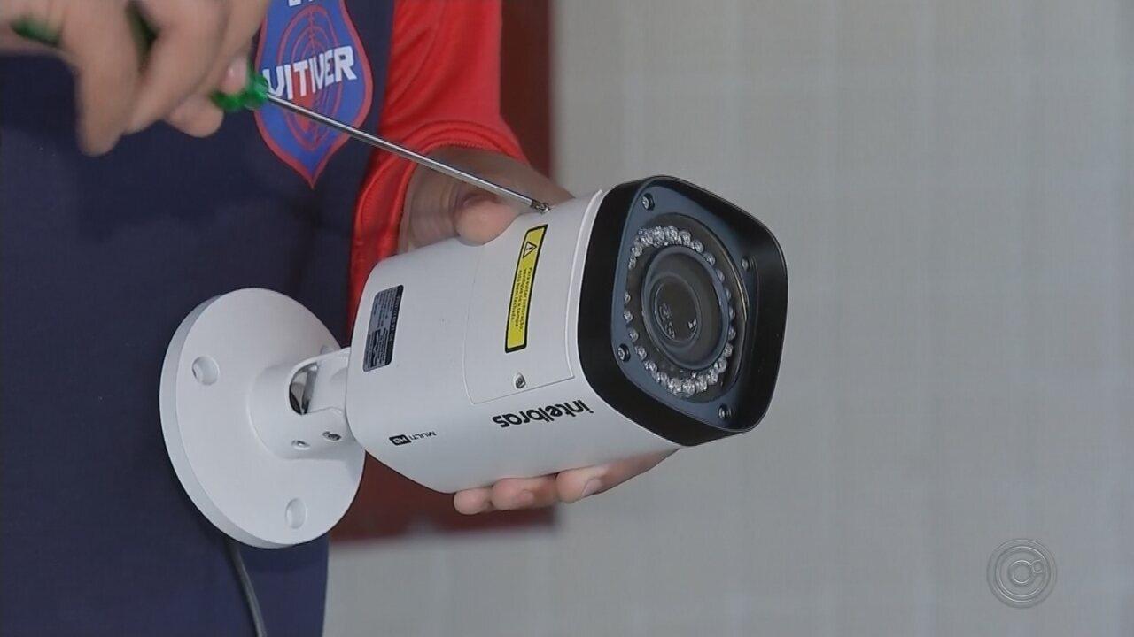 Prefeitura instala câmeras de segurança para evitar vandalismo em escolas municipais