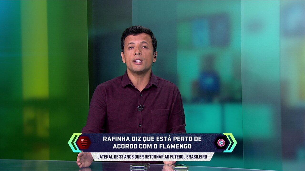 Central do mercado: Rafinha que voltar ao Brasil e diz que está perto de acordo com Fla