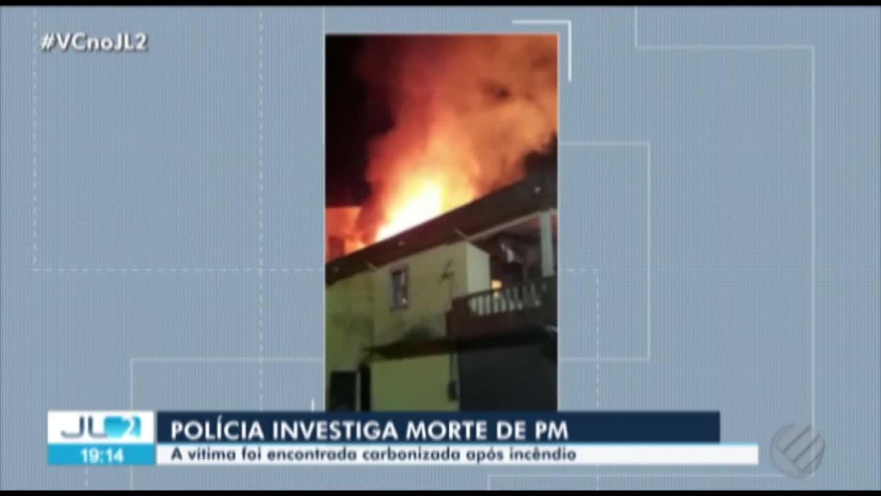 Divisão de Homicídios investiga morte de PM durante incêndio em Ananindeua