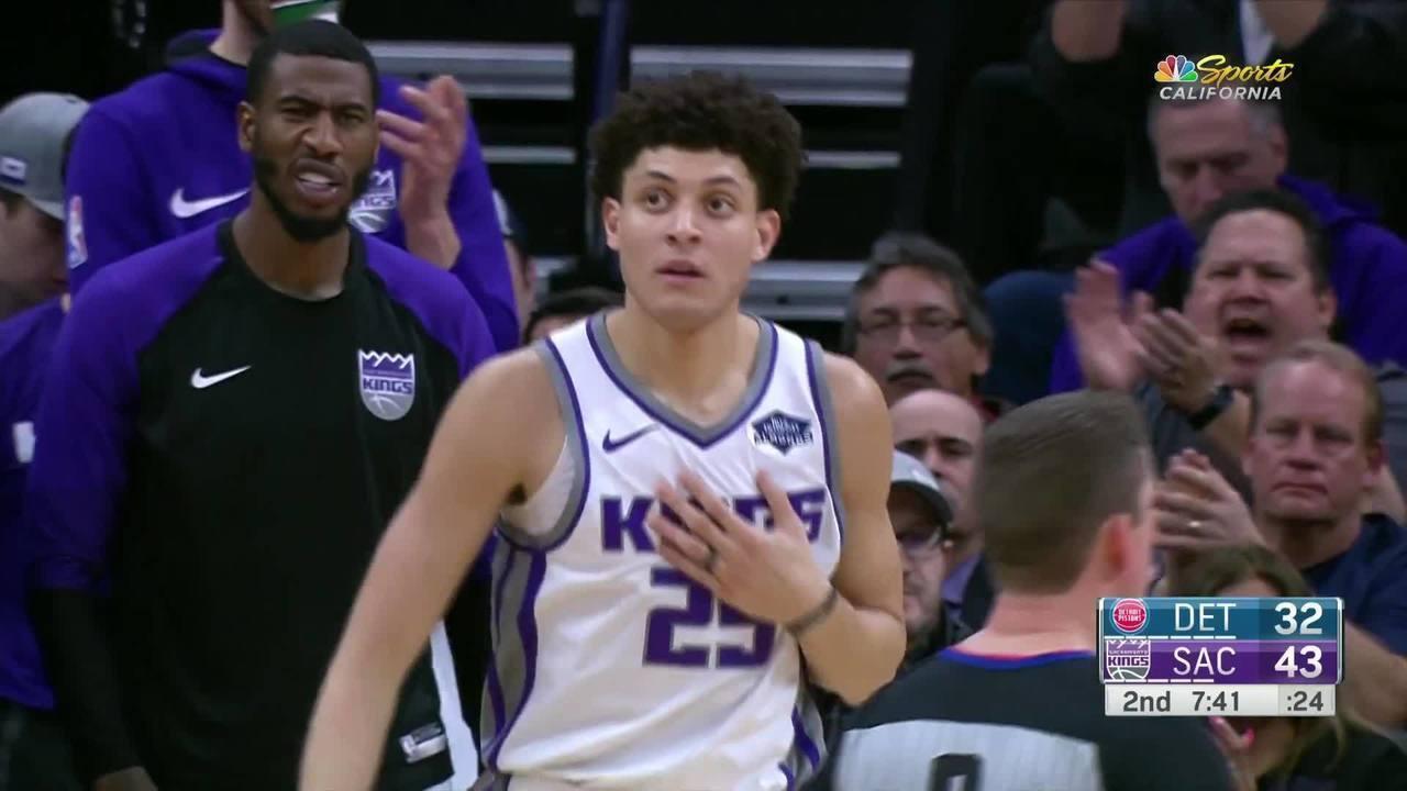 Melhores momentos: Kings 112 x 102 Pistons pela NBA