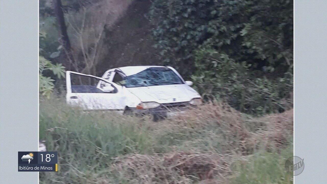 Adolescente que participava de assalto capota carro em tentativa de fuga da PM