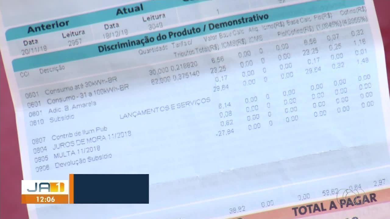 Moradores do Setor União Sul pagam pega iluminação pública mas não recebem benefício