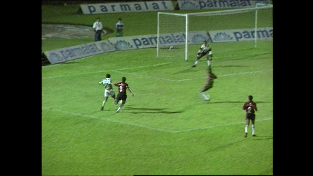 Com Marcos e Dida, Palmeiras e Vitória duelaram na Copinha de 1993