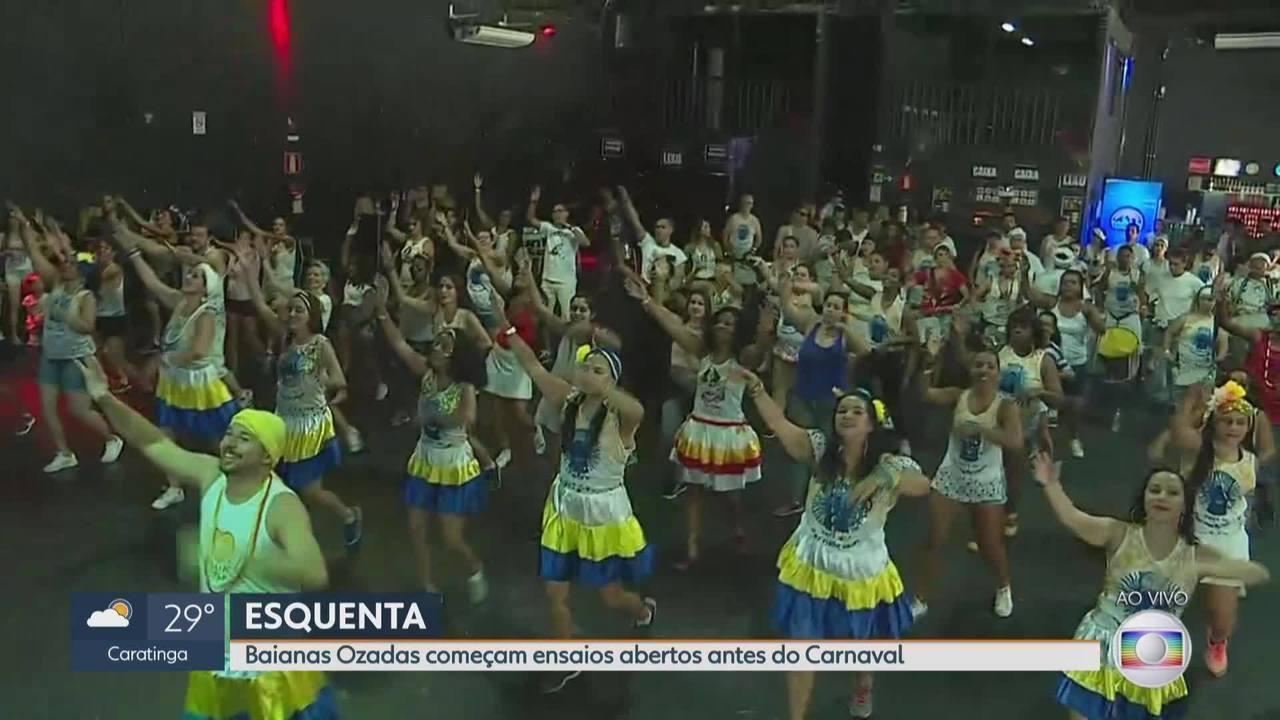 É Carnaval! Ensaios abertos do blocos de rua agitam Belo Horizonte
