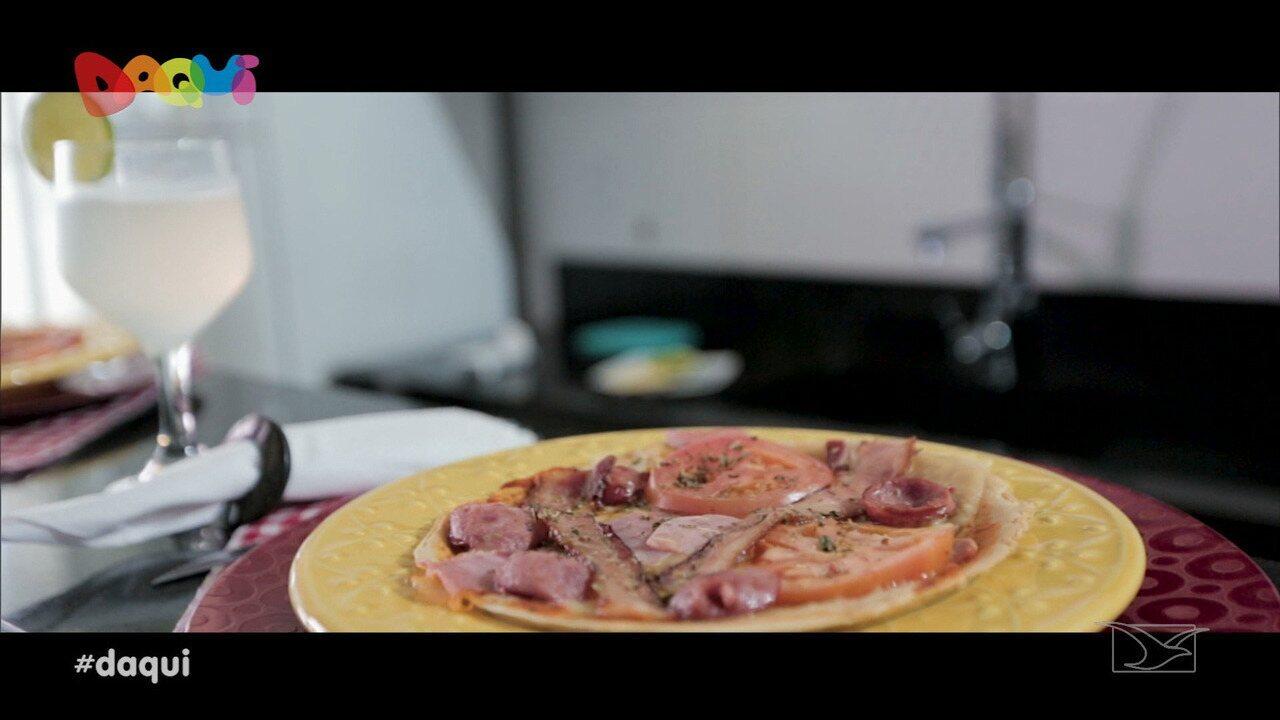Sabores Daqui mostra como preparar pizza brotinho cetogênica