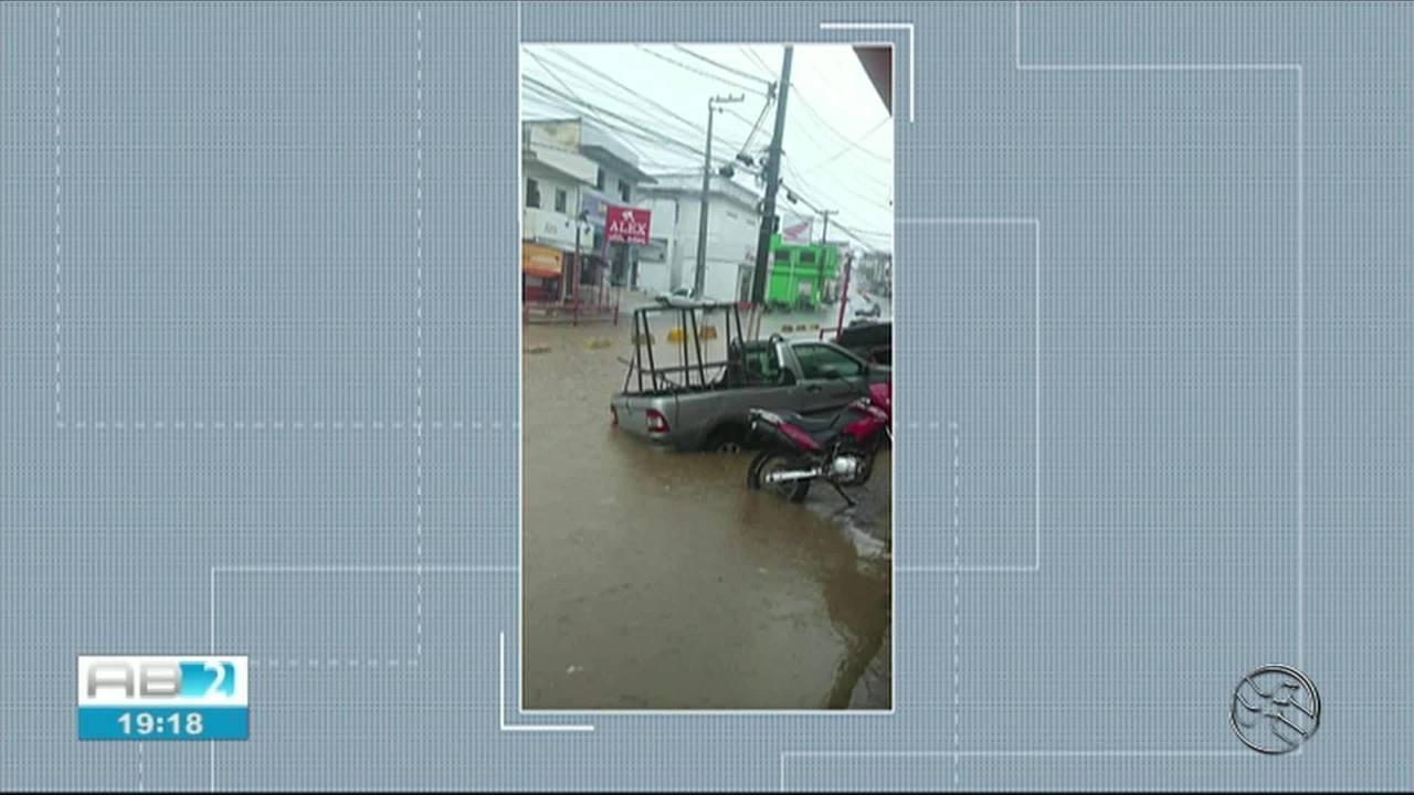 Fortes chuvas são registradas em Belém de Maria, Catende e Joaquim Nabuco