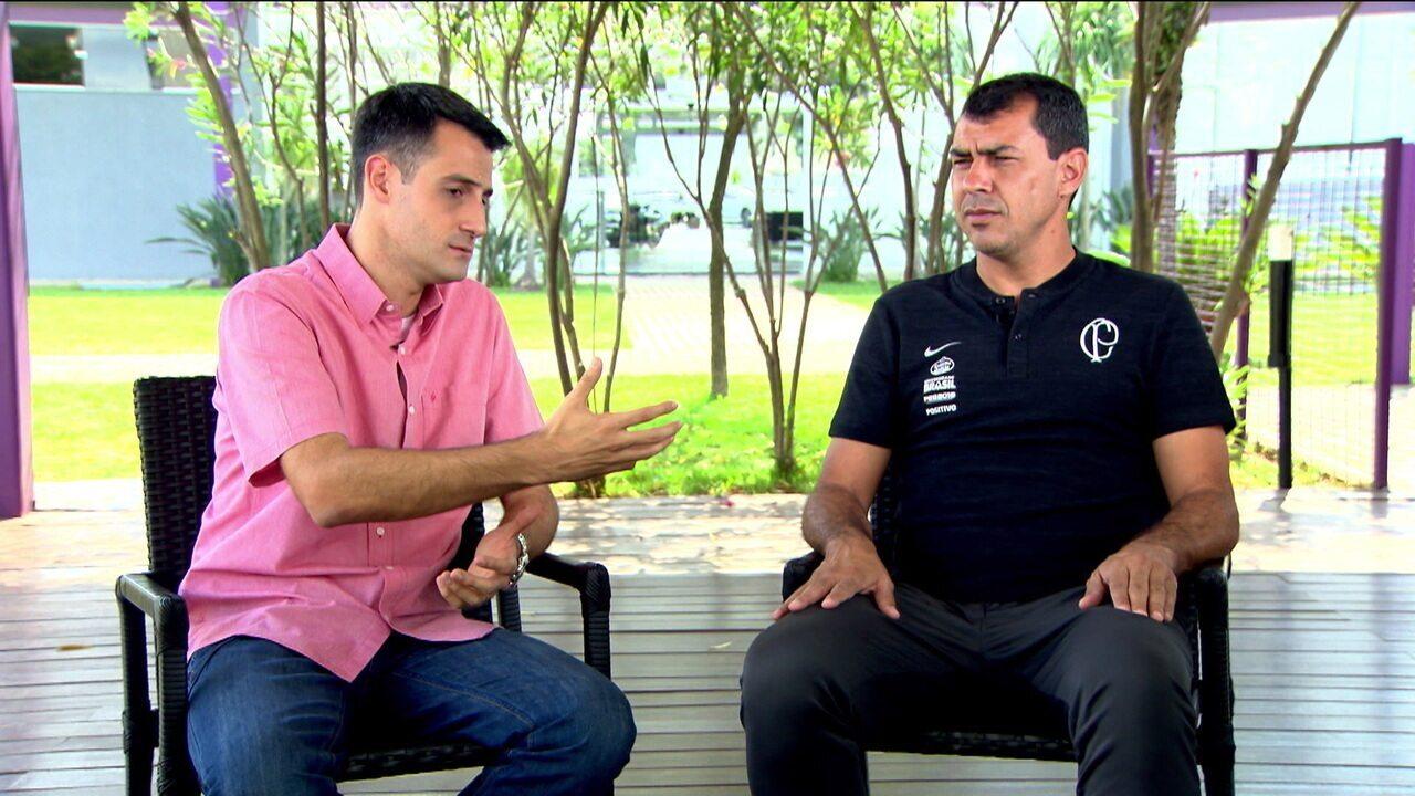 De volta ao Corinthians, Fábio Carille fala sobre o elenco para 2019 e as expectativas para a temporada