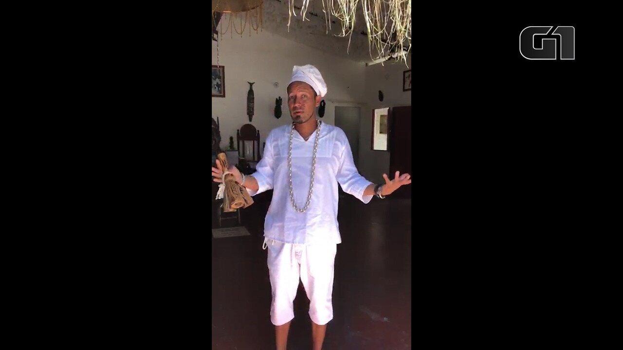 Pai de santo relata momentos de terror durante invasão a terreiro na Bahia