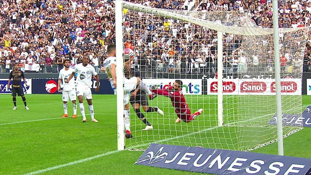 Melhores momentos: Corinthians 1 x 1 Santos em amistoso