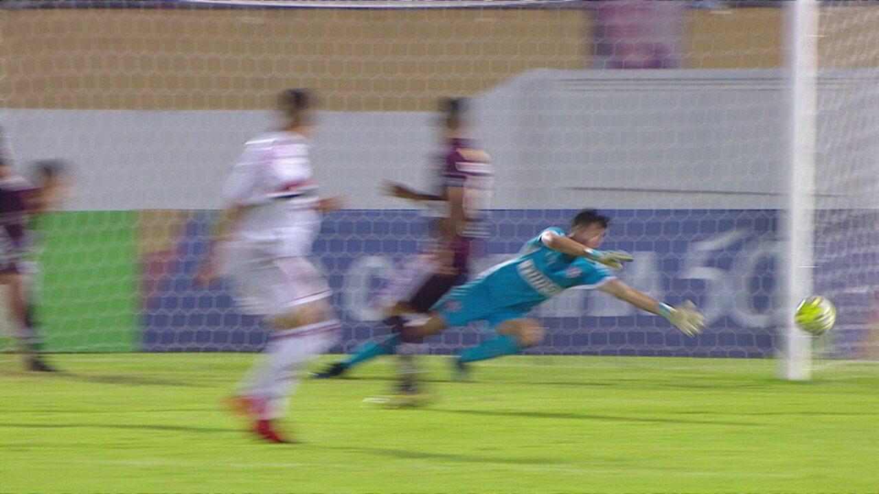 Melhores momentos: Ferroviária 0 x 2 São Paulo pela terceira fase da Copa SP de futebol júnior