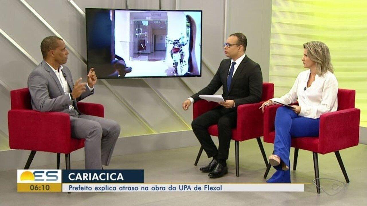 Prefeito de Cariacica admite que saúde precisa melhorar e anuncia reajuste para servidores