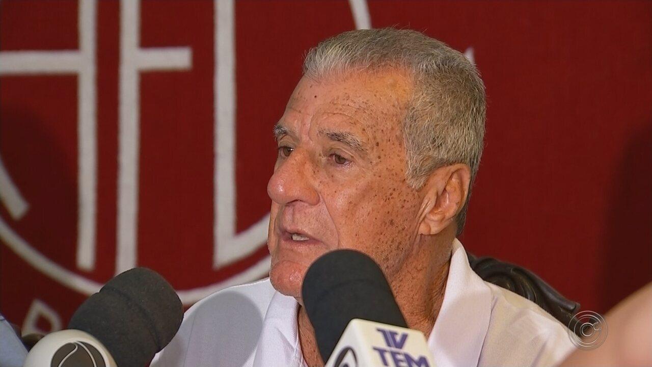 Técnico Pinho é apresentado no América de Rio Preto