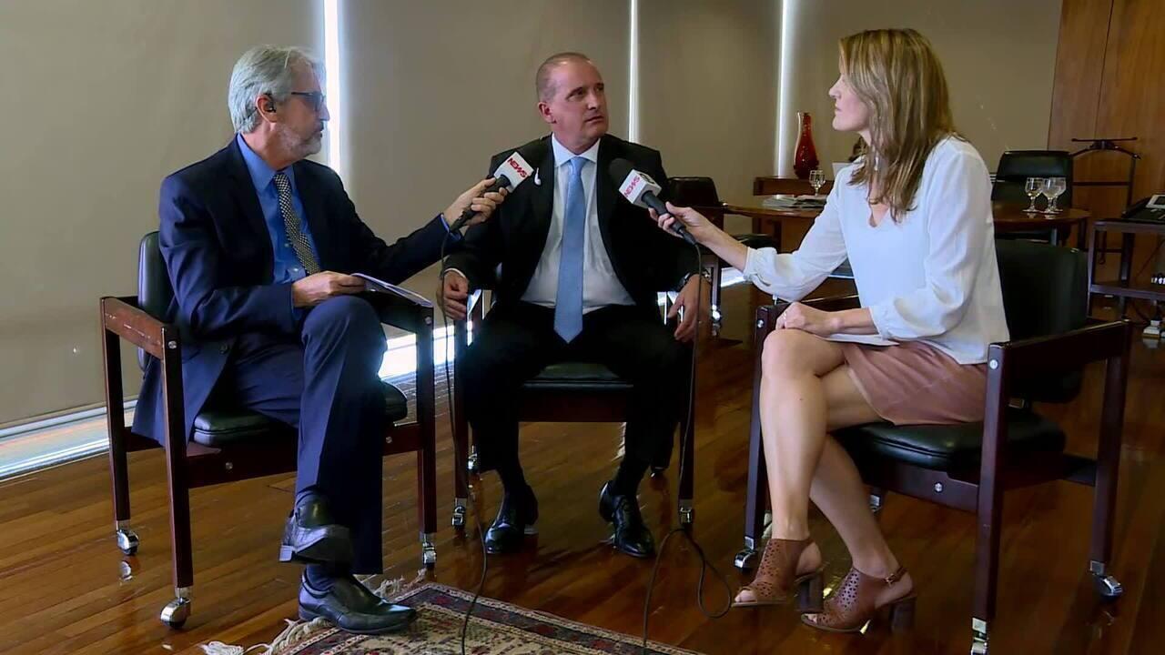 Ministro Onyx Lorenzoni comenta decreto de flexibilização de posse de armas