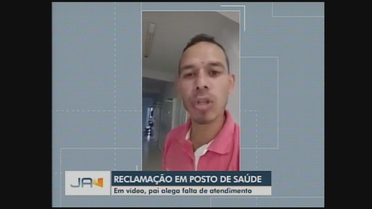Pai publica vídeo alegando falta de atendimento em hospital do Oeste de SC