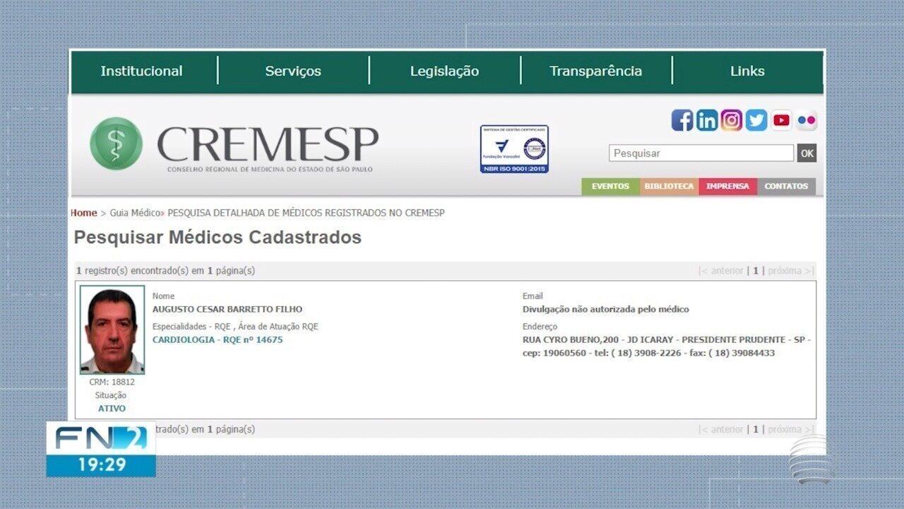 cea02f8de002 Polícia Civil e MP pedem prisão preventiva de médico cardiologista por  abusos de pacientes