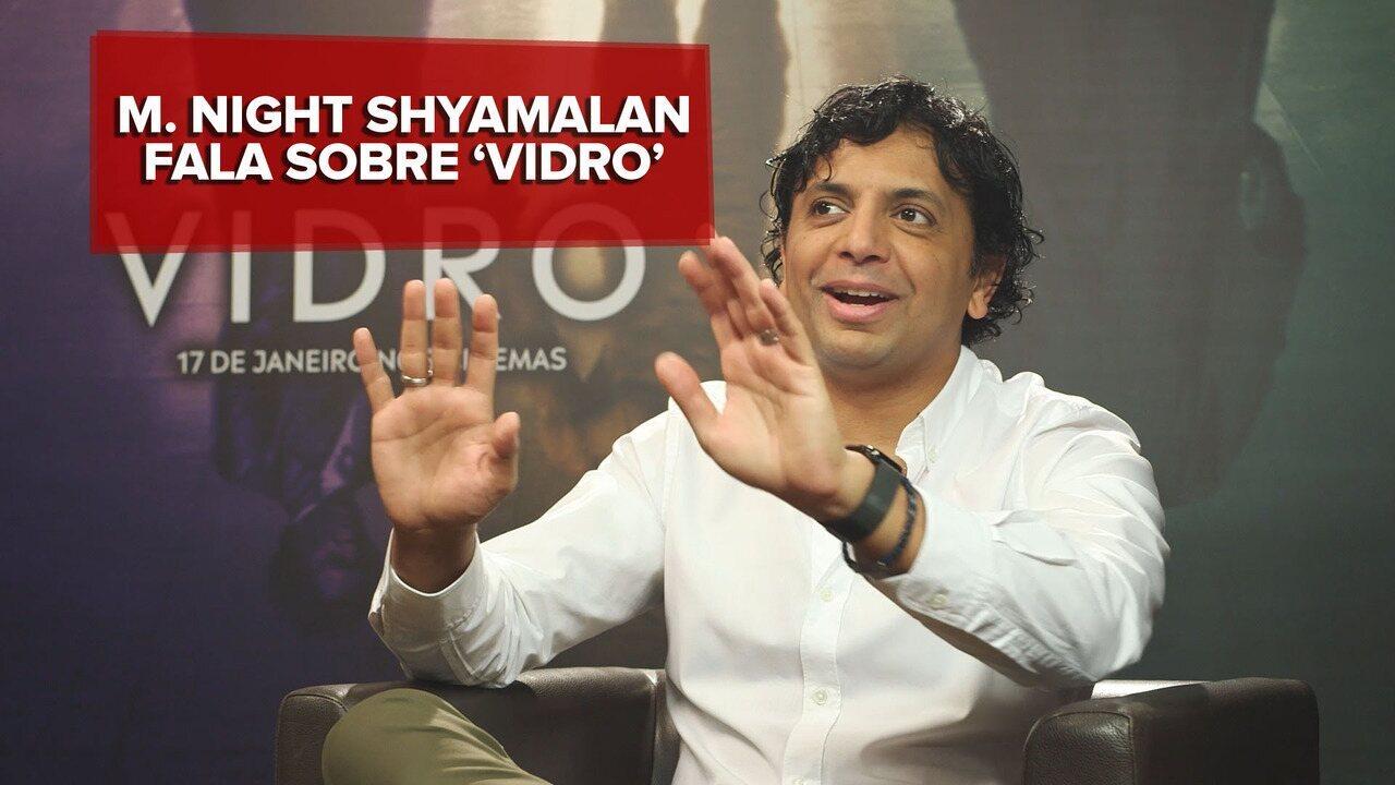 M. Night Shyamalan fala sobre subverter gênero de super-heróis com 'Vidro'