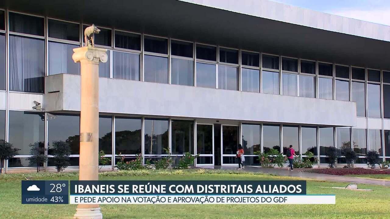 Ibaneis pede a distritais aprovação de projetos em convocação extraordinária