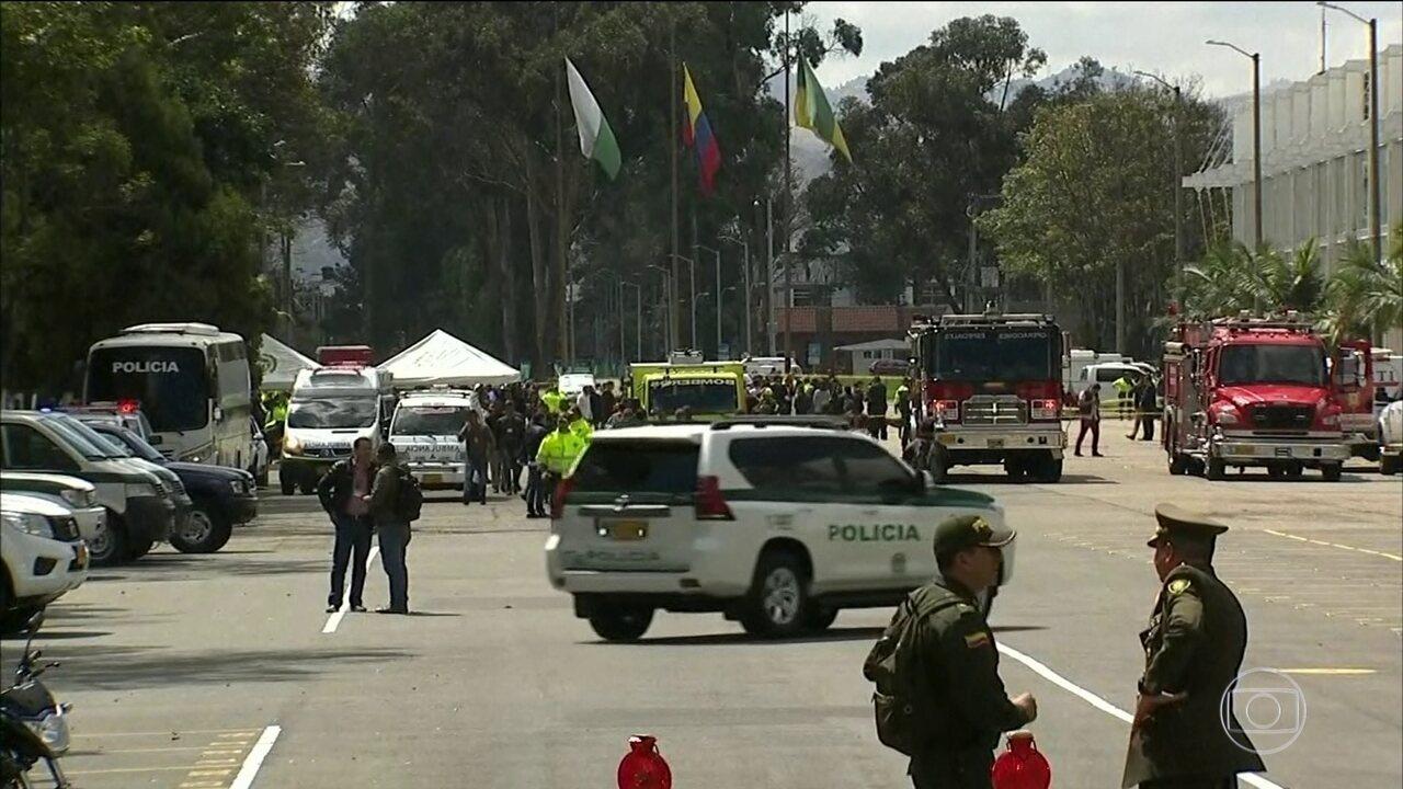 Explosão de carro-bomba mata 10 pessoas na Colômbia