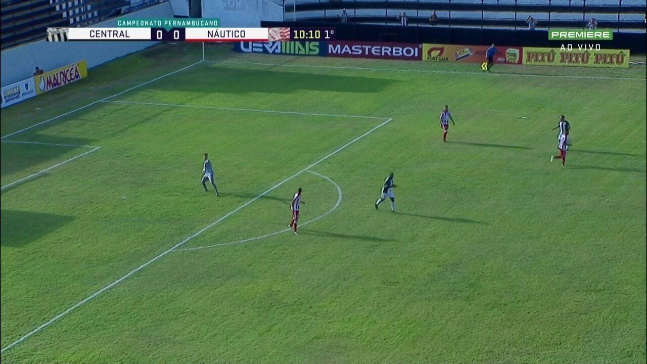 Melhores momentos de Central 2 x 1 Náutico pelo Pernambucano 2019