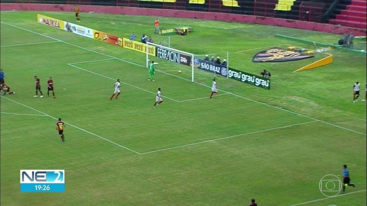 Sport perde em casa para o Flamengo de Arcoverde