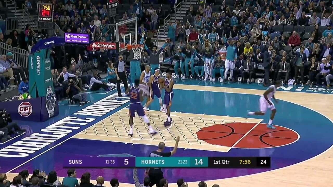 Melhores momentos: Charlotte Hornets 135 x 115 Phoenix Suns