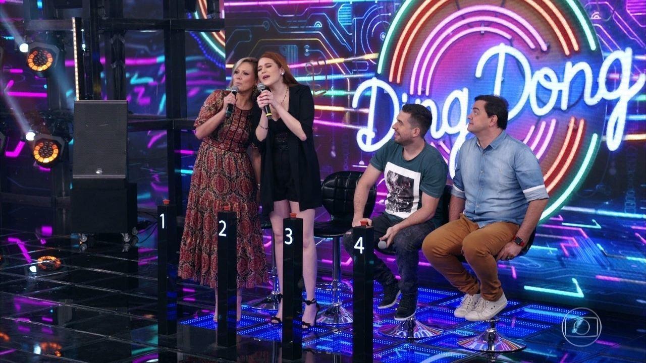 Ana Clara e Mônica Salgado acertam e Gustavo Mioto vai ao palco