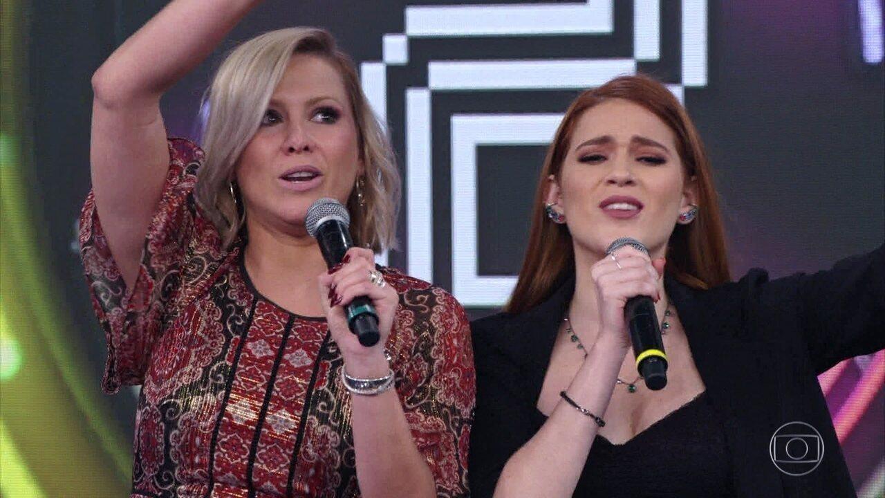 Ana Clara e Mônica Salgado acertam e Os Incríveis vão ao palco