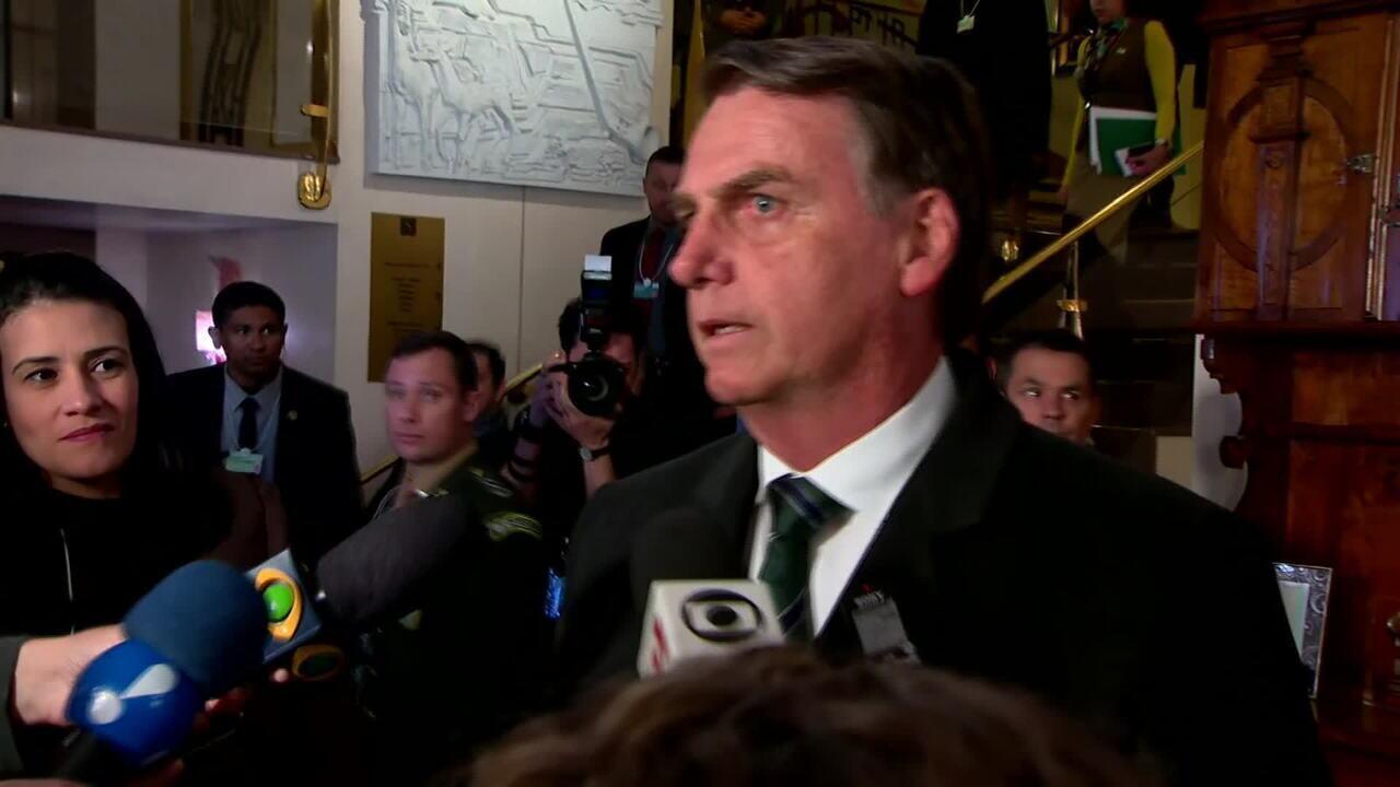 Bolsonaro chega a Davos e adianta discurso que fará no fórum econômico: 'Novo Brasil'