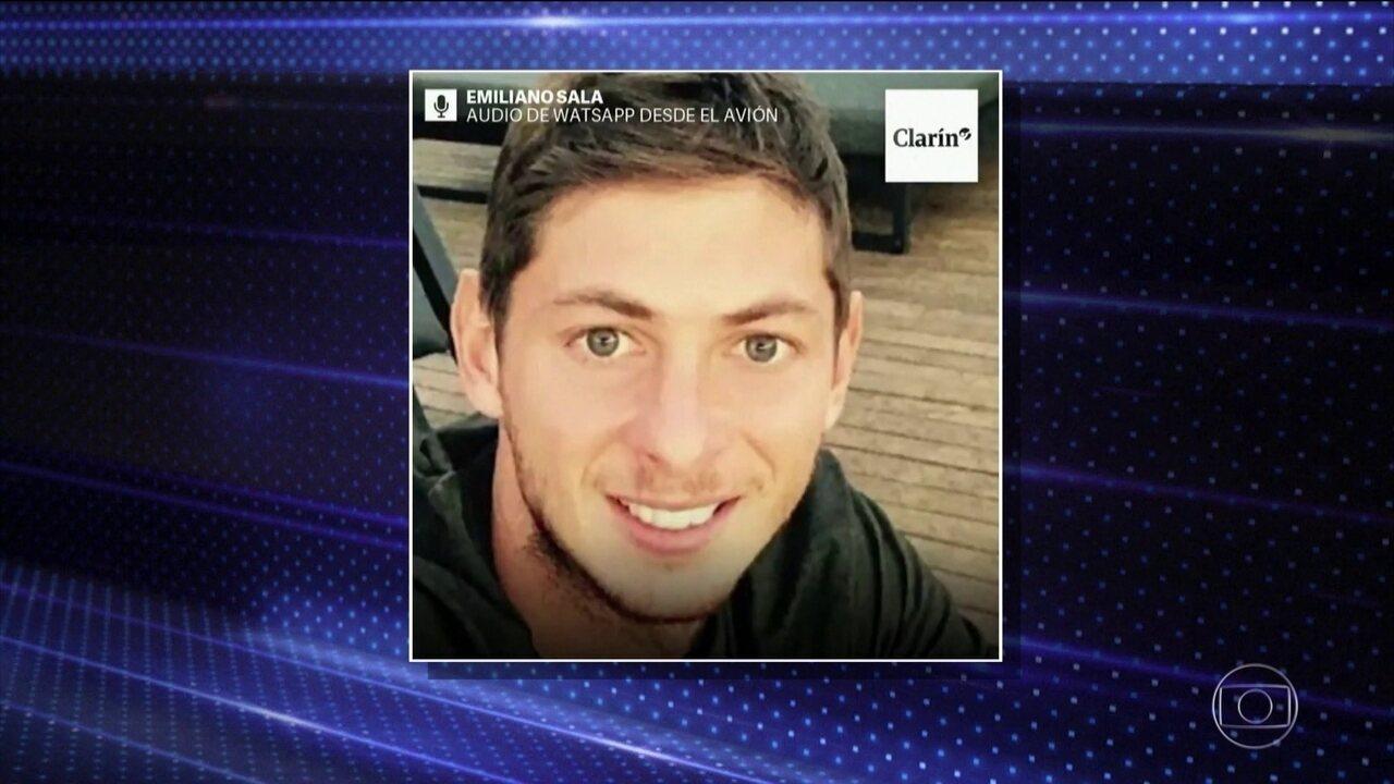 Mensagem atribuída ao jogador argentino que estava no avião desaparecido é divulgada