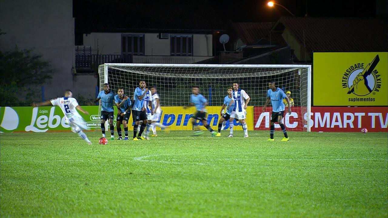 Confira os melhores momentos entre Aimoré 1 x 1 Grêmio 57087b52bd861