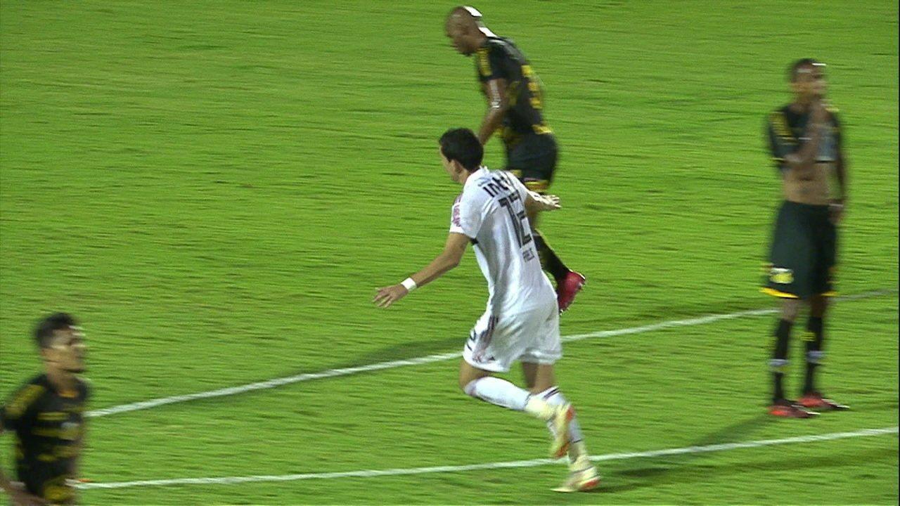 Na vitória sobre o Novorizontino, Pablo também deixou sua marca