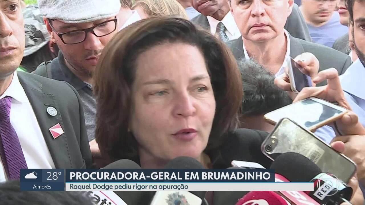 Raquel Dodge pede rigor na apuração sobre rompimento de barragem em Brumadinho
