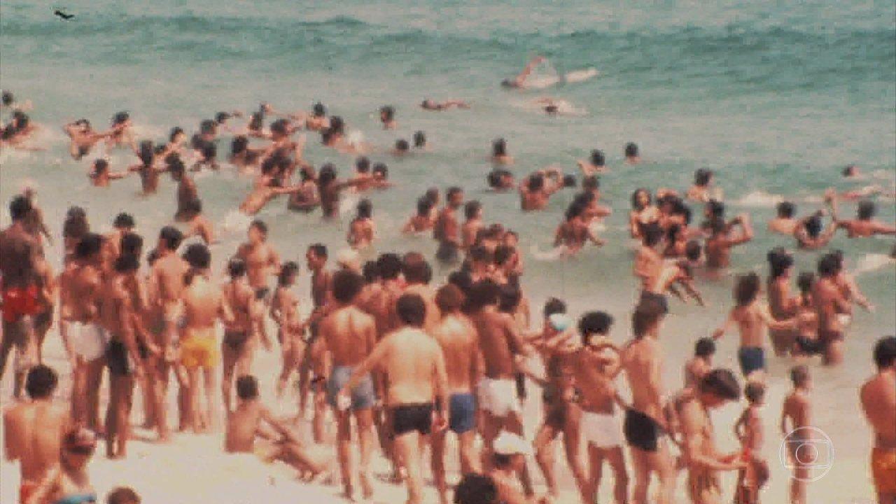 Reveja imagens da década de 80 apresentadas na passagem de tempo da estreia de 'Verão 90'