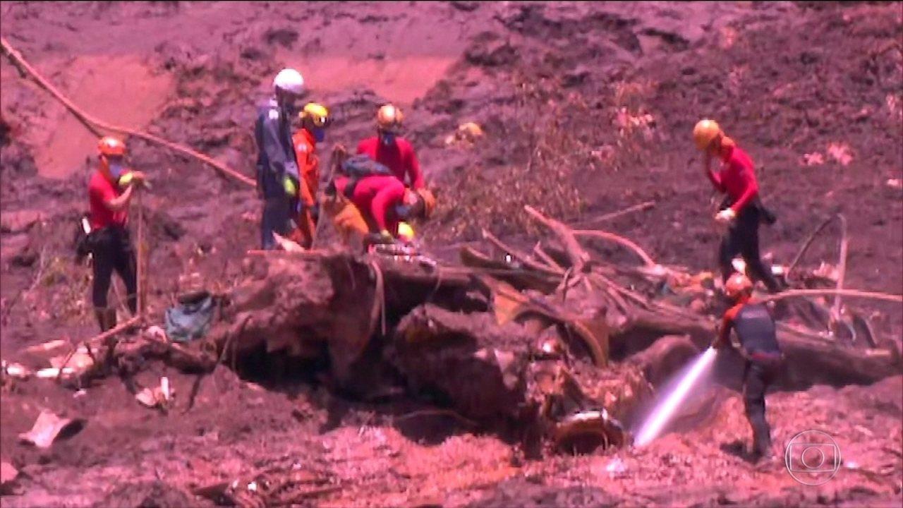 Sobe para 84 o número de mortos da barragem rompida em Brumadinho