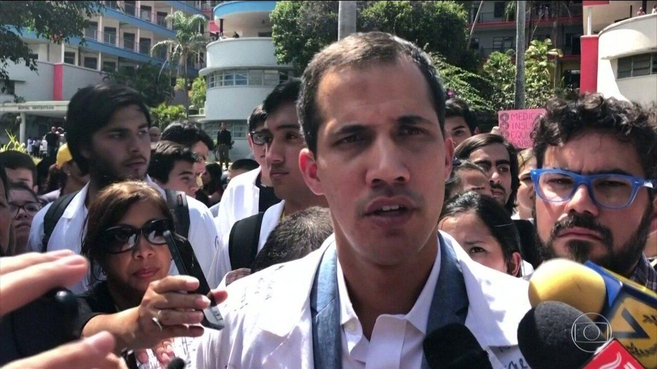 Líder opositor da Venezuela diz que já conversa com militares