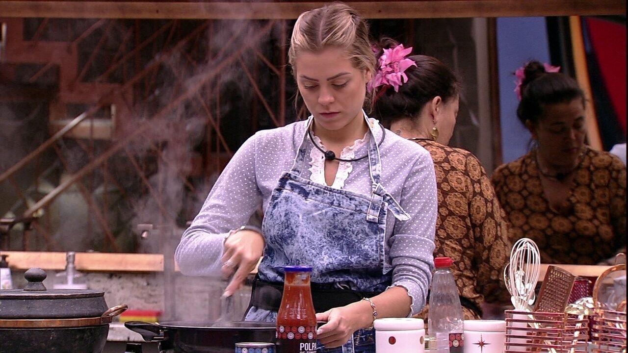 Isabella avisa que vai cozinhar mais carne: 'É melhor pecar pelo excesso'