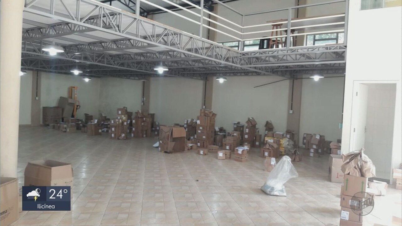 Vigilância Sanitária fecha galpão clandestino de remédios em Borda da Mata