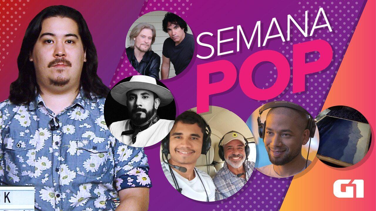 Semana Pop tem agressão homofóbica a ator, casamento de Lulu Santos e Backstreet Boys