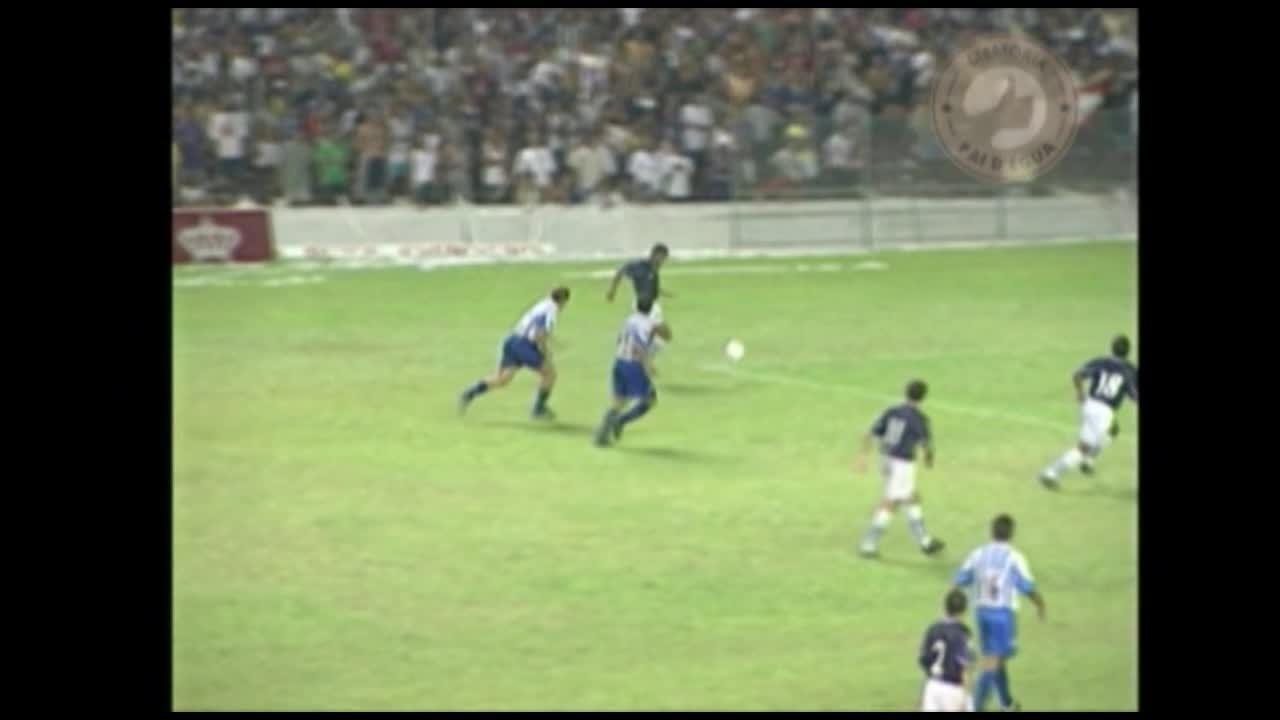 Memória Pai d'Égua relembra os gols de Marcelo Passos no Re-Pa de 1999