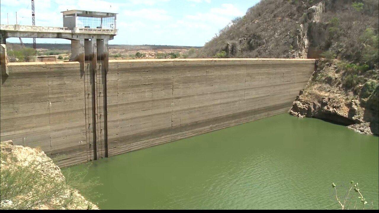 Veja um panorama das barragens da Paraíba