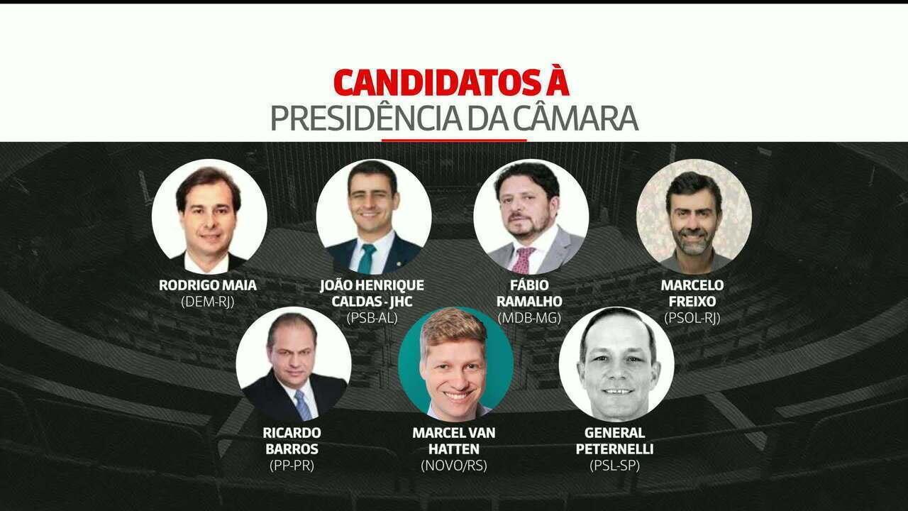 Sete deputados disputam a presidência da Câmara