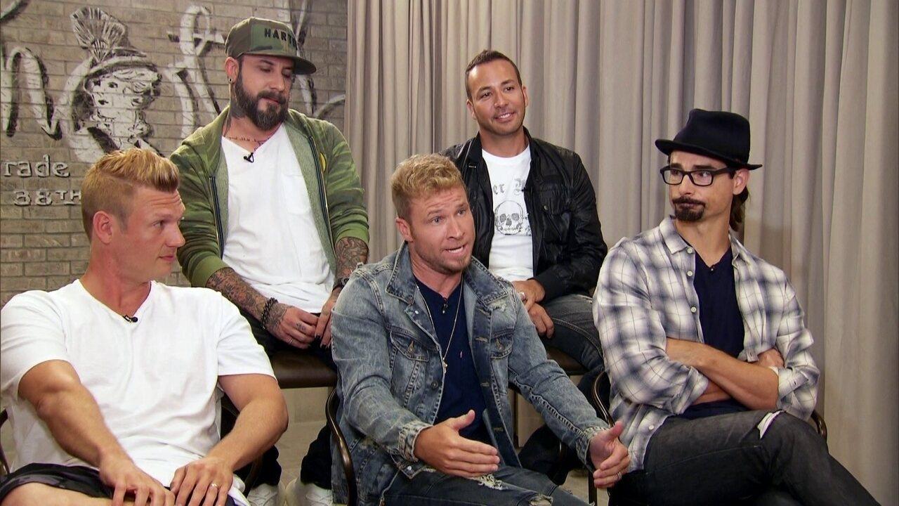 EXCLUSIVO WEB: Backstreet Boys lançam novo álbum e conversam com o Fantástico