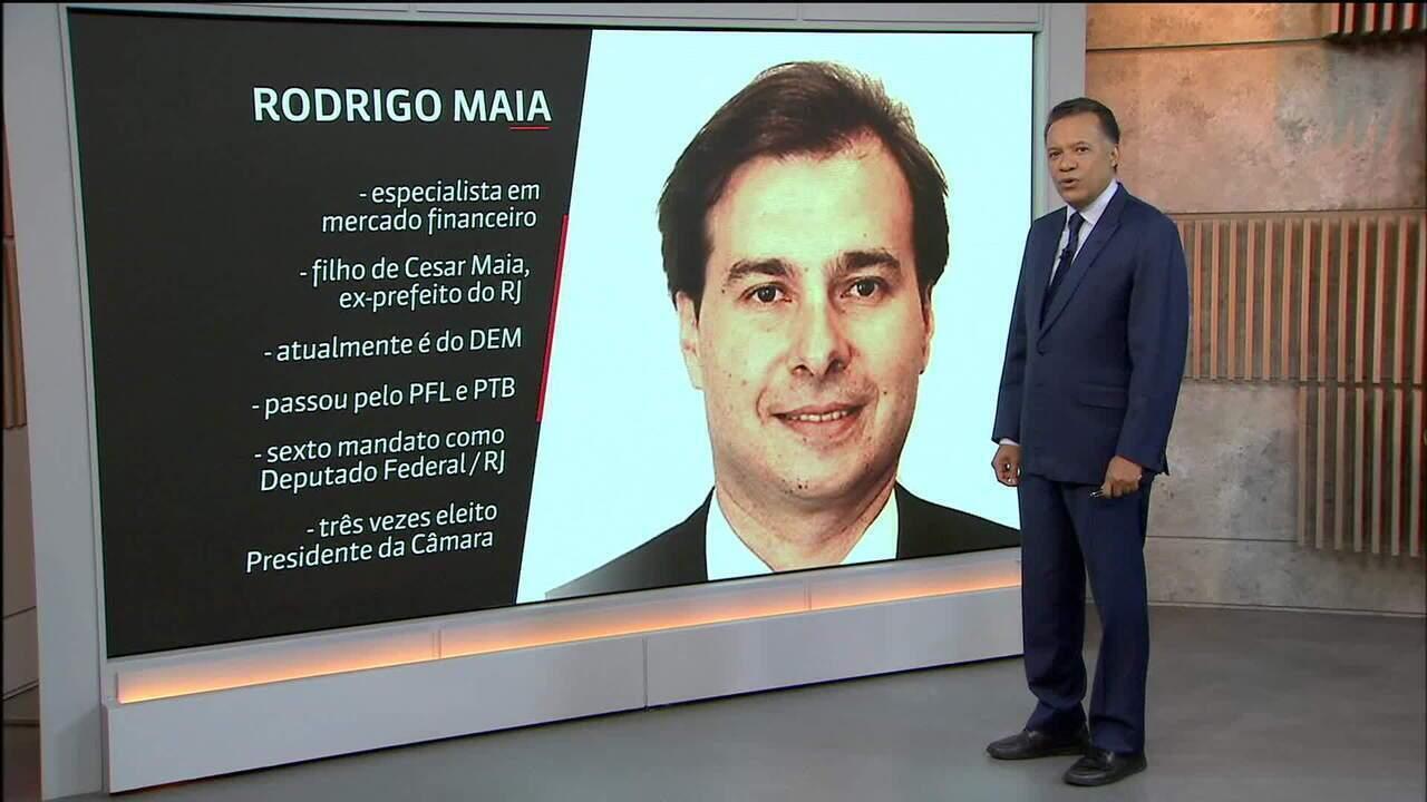 Veja um perfil do presidente da Câmara, deputado Rodrigo Maia