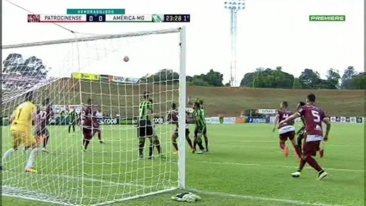 Melhores momentos de Patrocinense 0 x 0 América-MG, pela 5ª rodada do Campeonato Mineiro