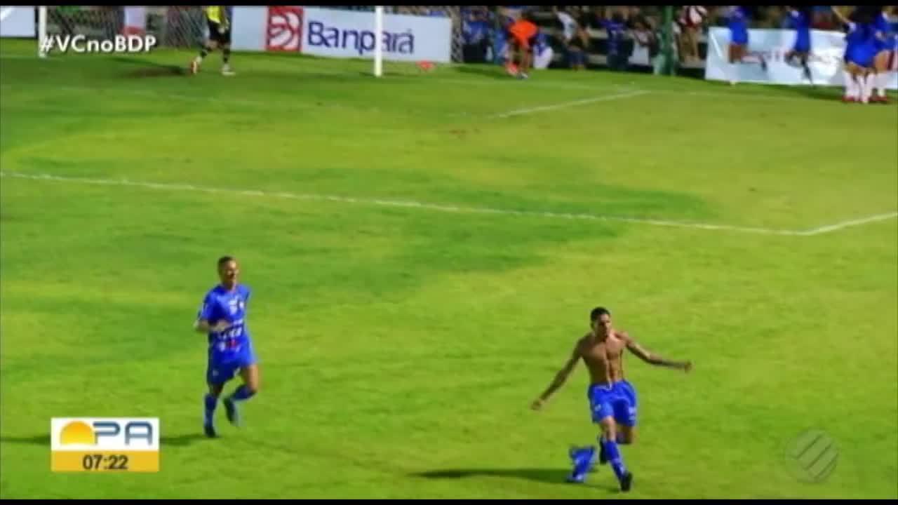 Veja os gols de Águia de Marabá 2 x 1 Paragominas