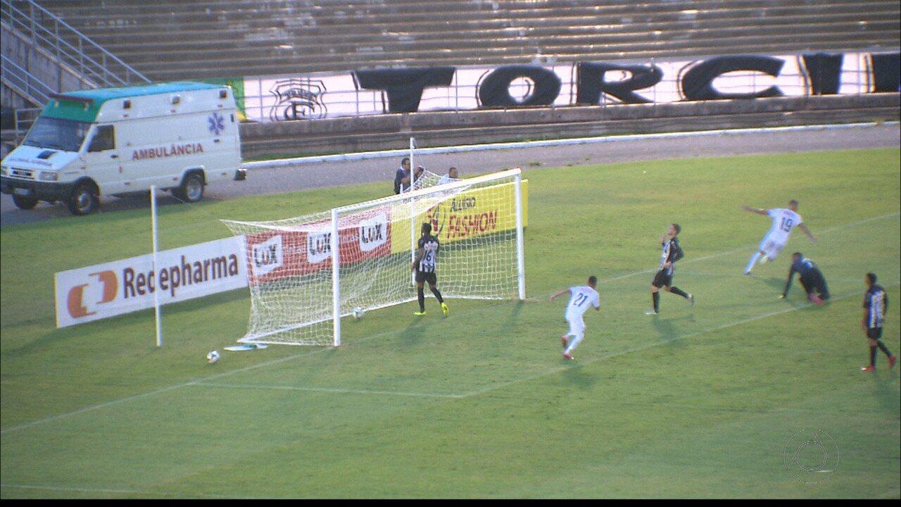 Veja como foi a vitória da Perilima sobre o Treze no Estádio Amigão