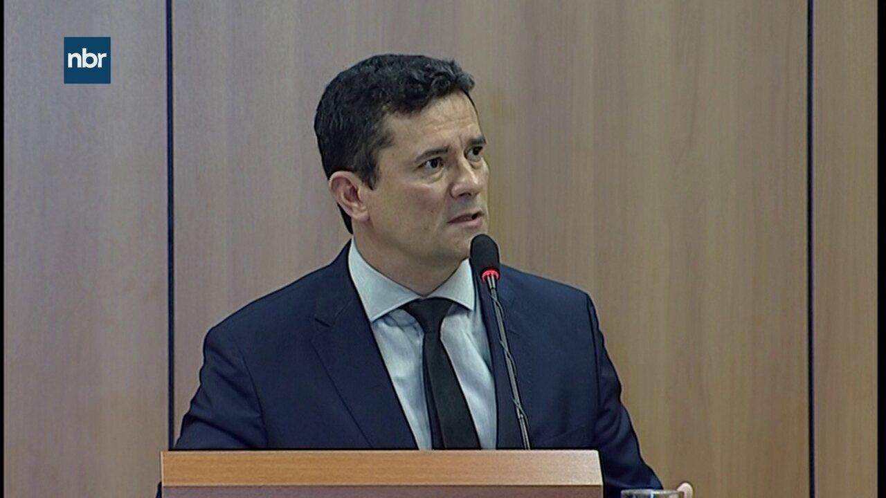 Projeto de lei de Moro endurece punição para crimes mais graves