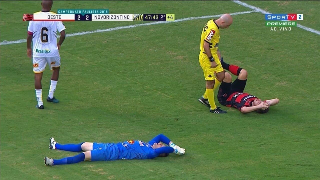 Melhores momentos: Oeste 2 x 2 Novorizontino, pela 5ª rodada do Paulistão 2019