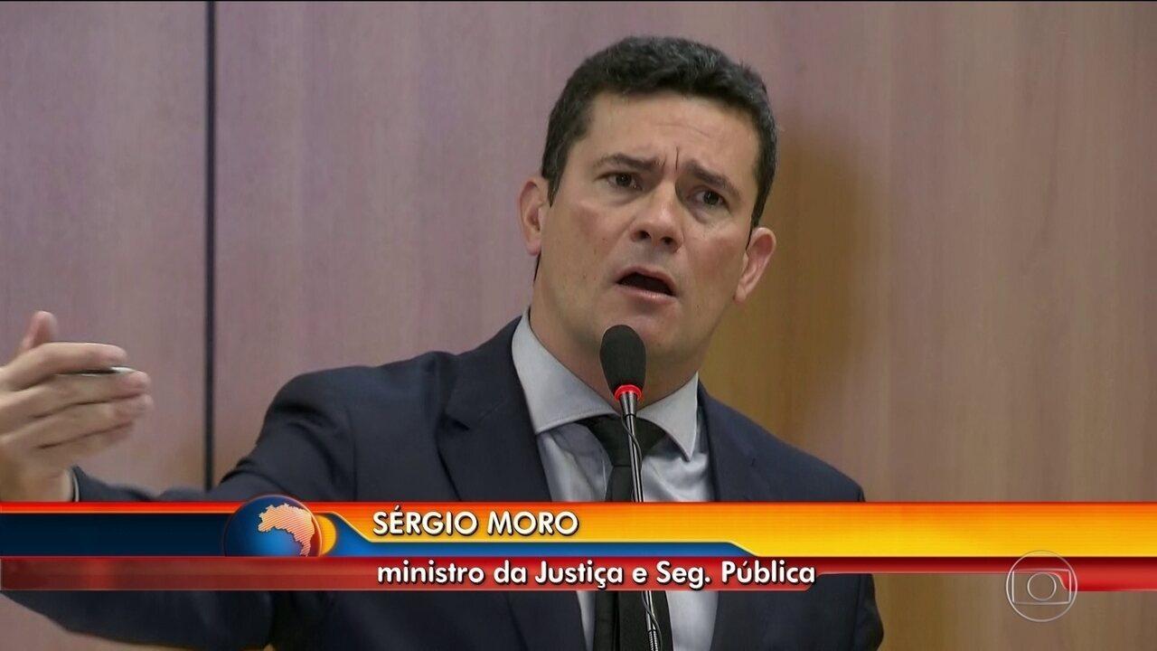 Sérgio Moro encontra deputados para discutir o pacote de medidas anticrime