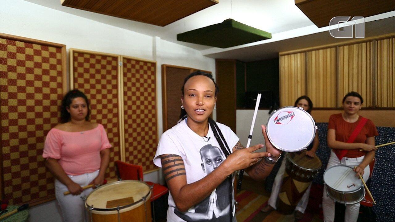 Aprenda a tocar tamborim com a série